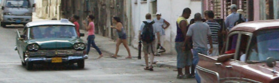 The Naughty Way to Catch a Taxi in Havana