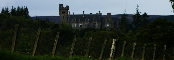 Photo Friday – Haunted Carbisdale Castle, Scotland