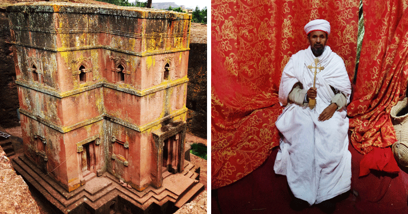 St. George's Cathedral is the crown jewel of the Lalibela churches.